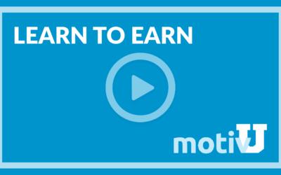 Learn to Earn with MotivU