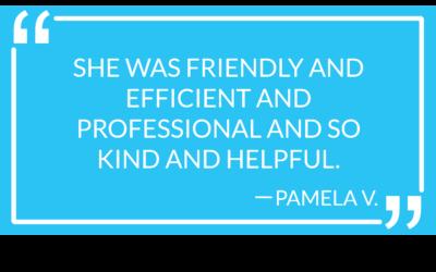 #MotivMoment: Pamela V.'s Review